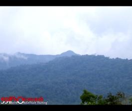Foto Dari Puncak Aur Bunak, Kalsel