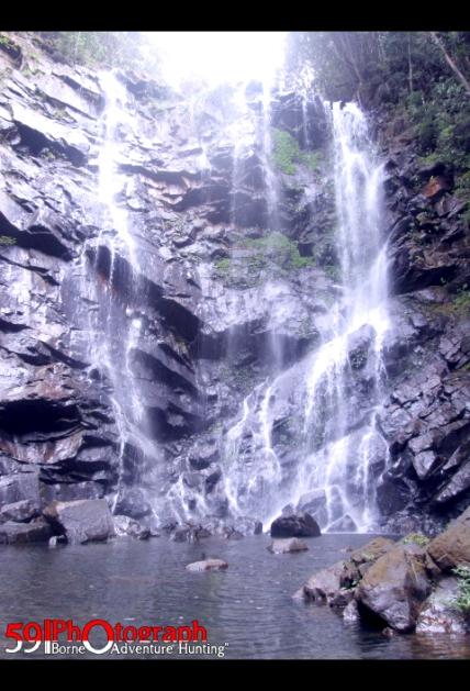 Air Terjun Mandin Tinggi, Gunung Aur Bunak, Kalsel