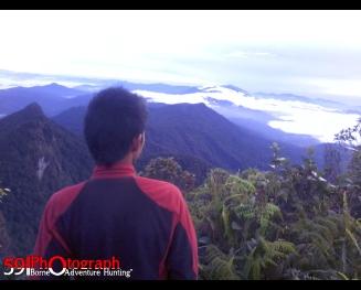 Puncak Gunung Halau-halau, Barabai, Kalsel
