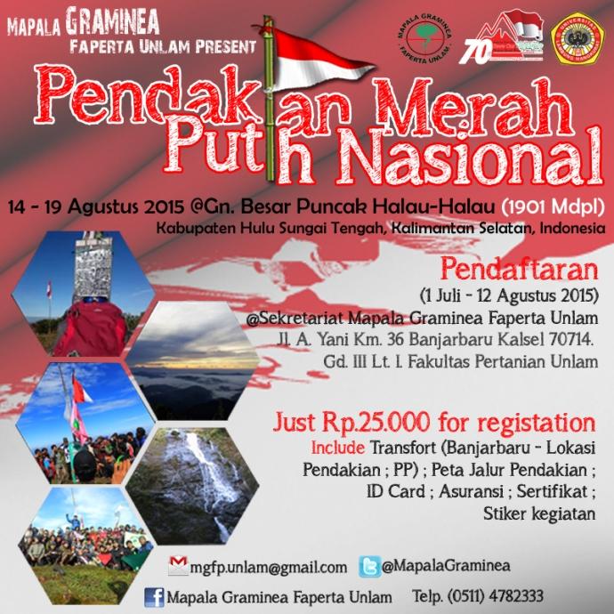 Pendakian Merah Putih Nasional Tahun 2015